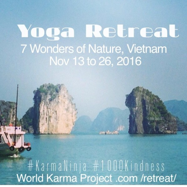 Adam Quang Yoga Retreat 2016
